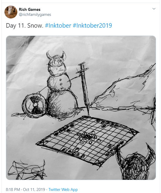 Inktober Day 11 Snow