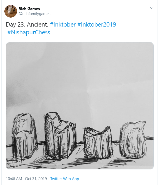 Inktober Day 23 Ancient