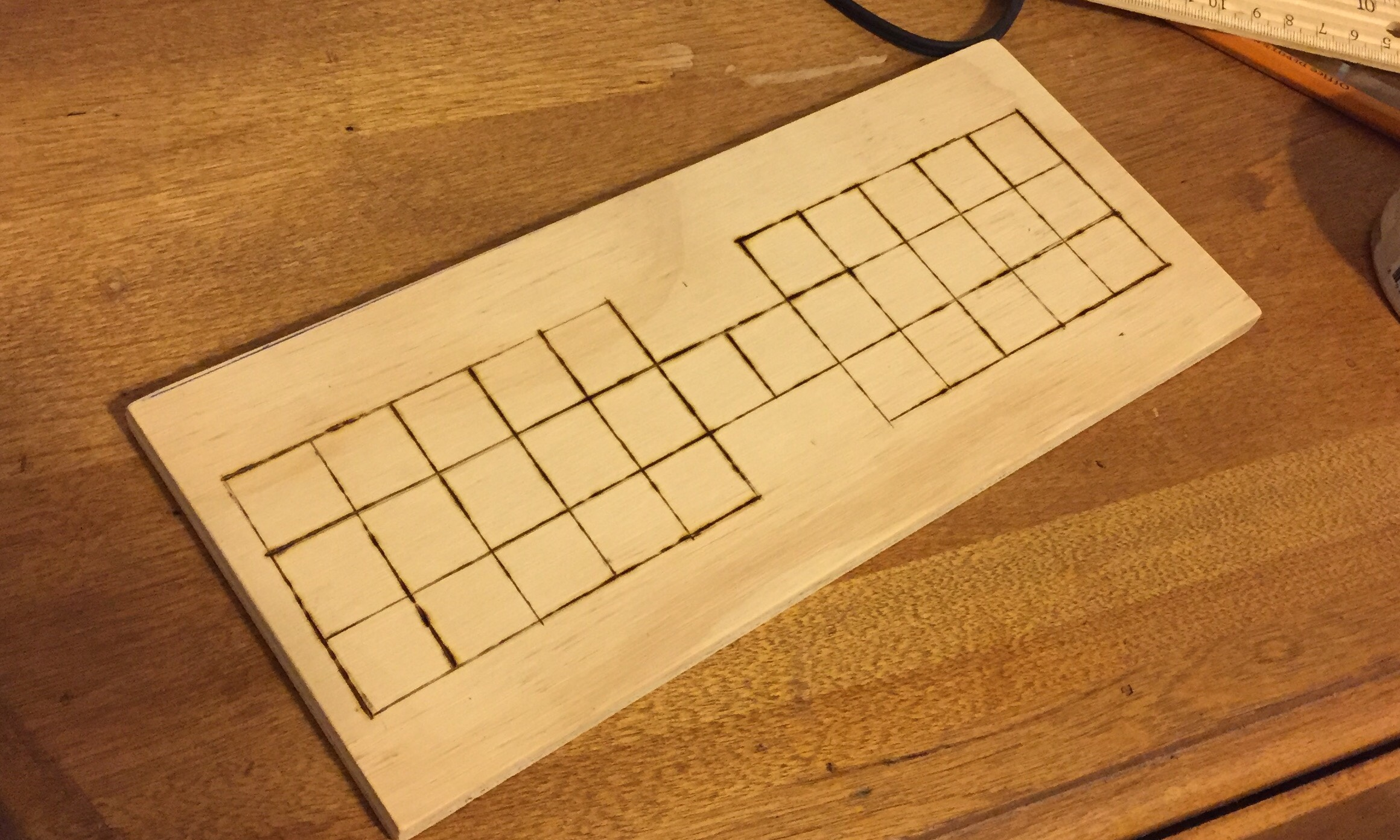Making a Senet-Ur Board 1