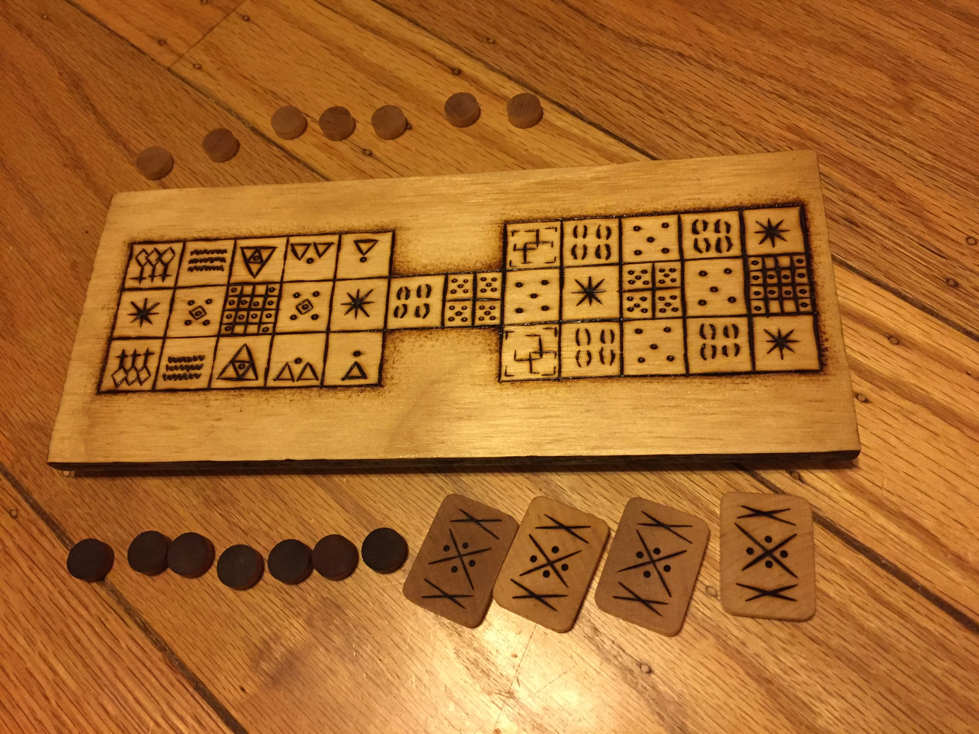 Making a Senet-Ur Board 4
